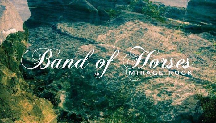 Portada del nuevo disco de Band of Horses, Mirage Rock