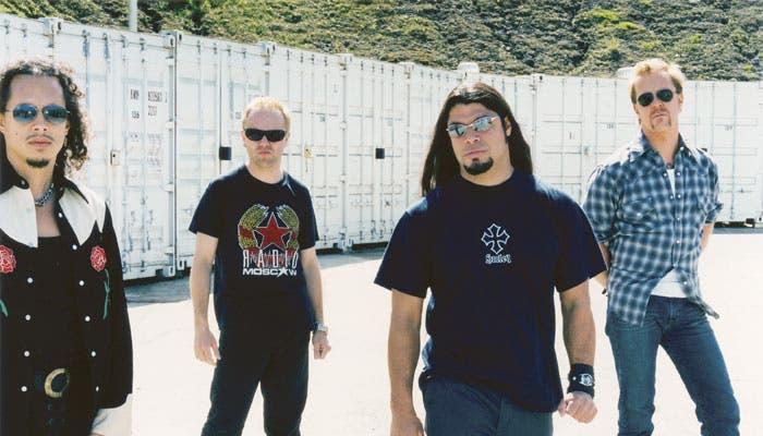 Integrantes del grupo Metallica