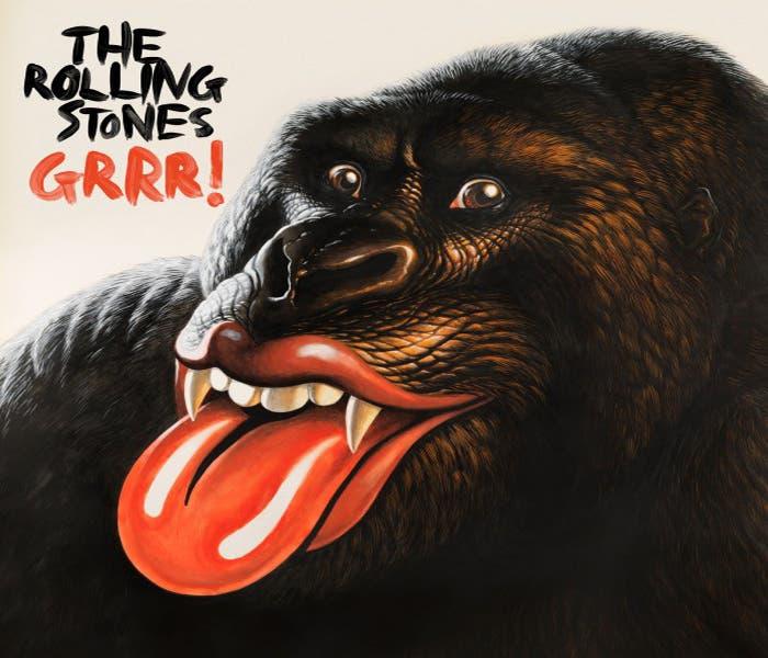 Portada nuevo disco GRRR! de los Rolling Stones