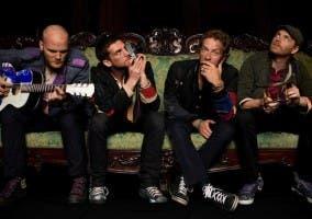 Foto de la banda británica Coldplay 2012