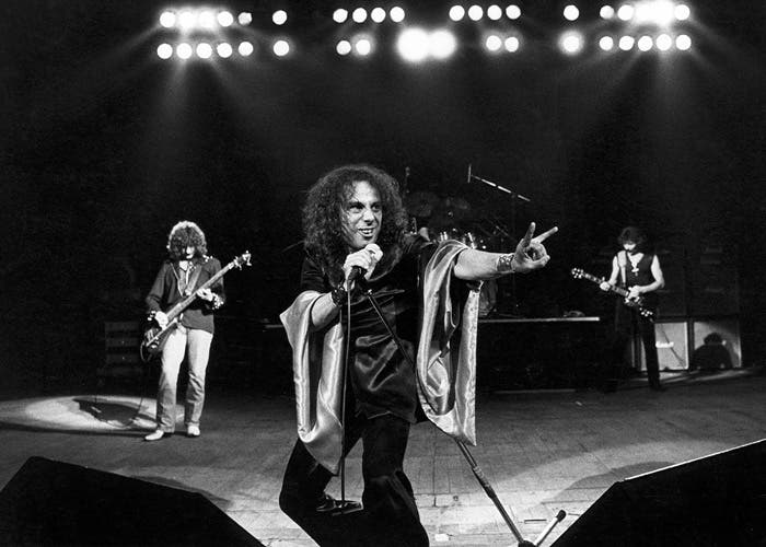Actuación en vivo de Black Sabbath en su etapa con el vocalista Ronnie James Dio