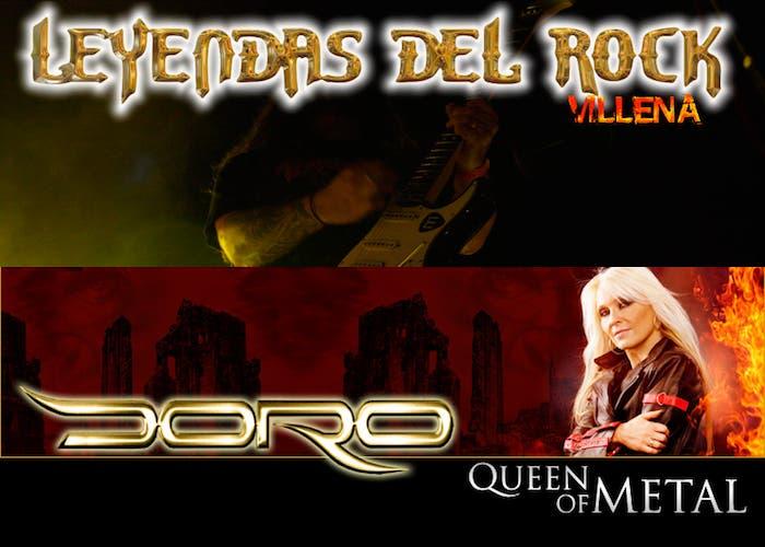 Doro, Última incorporación del Leyendas del Rock 2013