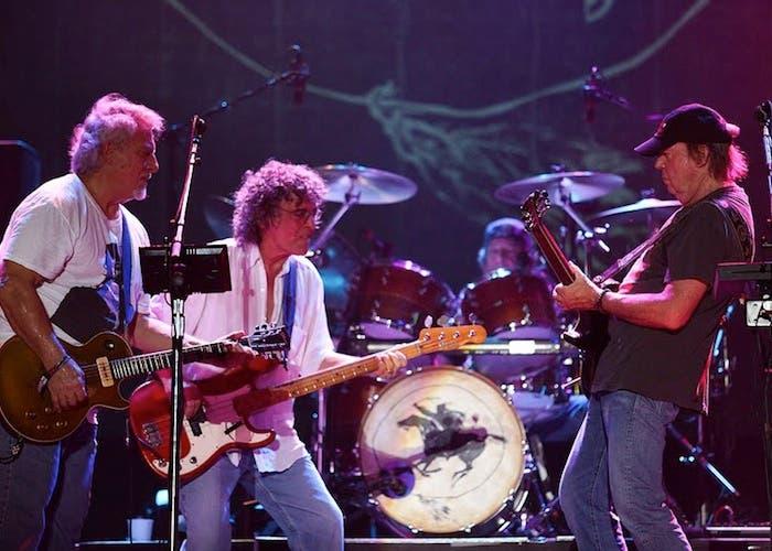 Neil Young & Crazy Horse en directo en Austin en 2012
