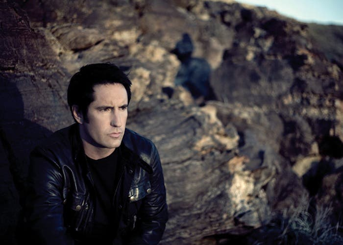 Trent Reznor, líder de Nine Inch Nails en una foto de 2012