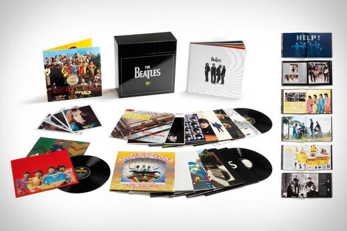 Vinilos reeditados Beatles