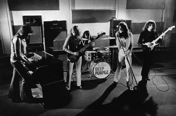 Actuación de la banda británica Deep Purple