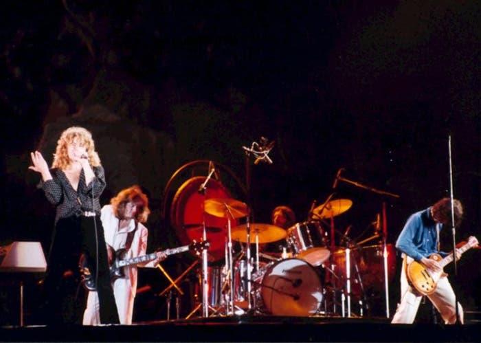 Actuación en directo de Led Zeppelin