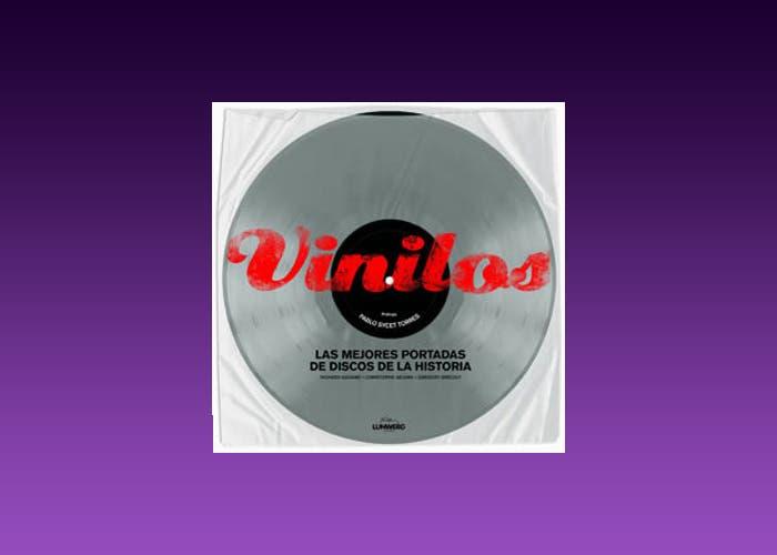 """Portada del libro """"Vinilos. Las mejores portadas de discos de la historia"""""""