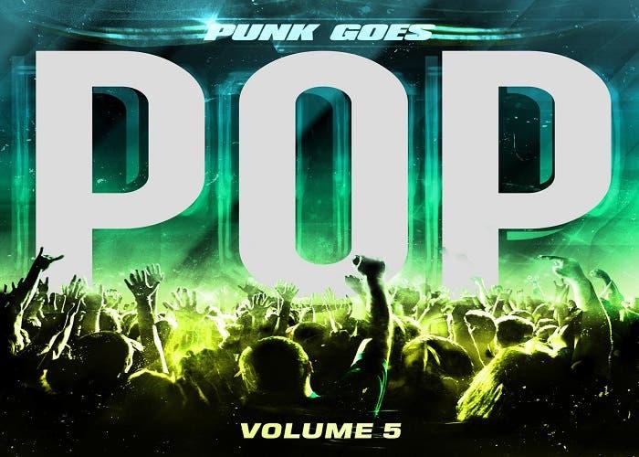 Portada de la nueva recopilación de Punk Goes Pop