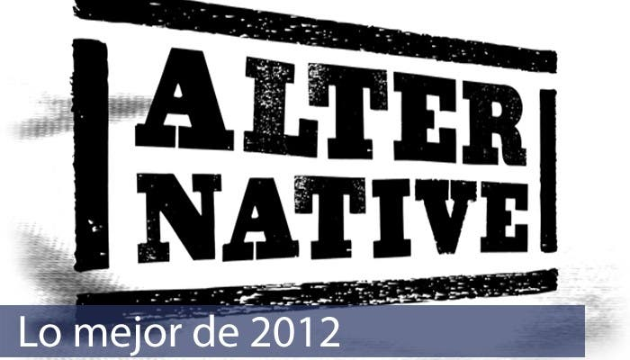 Lo Mejor de 2012 Rock Alternativo
