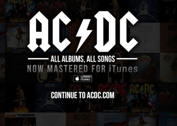 ACDC arrasa en su primera semana en iTunes