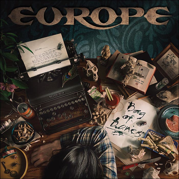 Portada del álbum Bag of Bones, de Europe