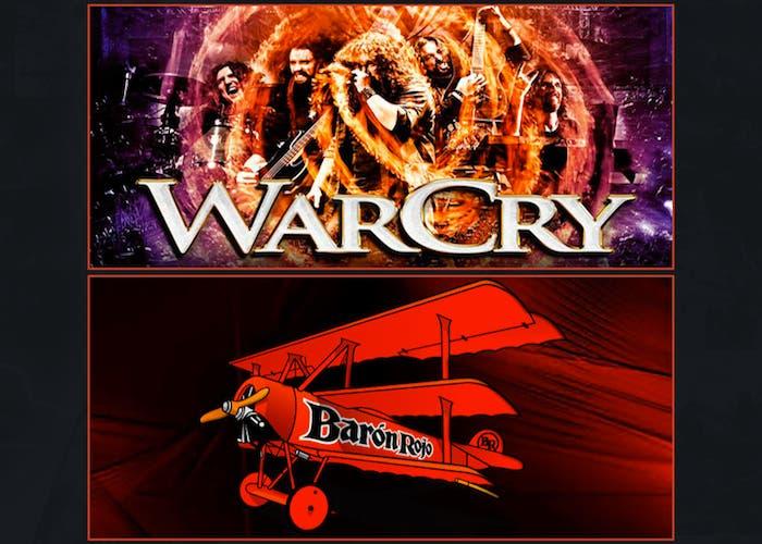 Baron Rojo y Warcry en en Leyendas del Rock 2013
