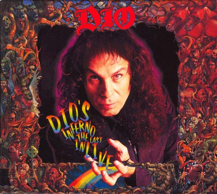 Portada del álbum Dio s Inferno, de Dio