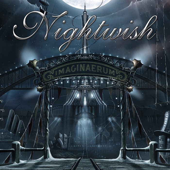 Portada del álbum Imaginaerum, de Nightwish