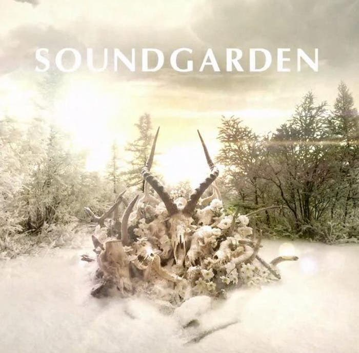Portada del álbum King Animal, de Soundgarden
