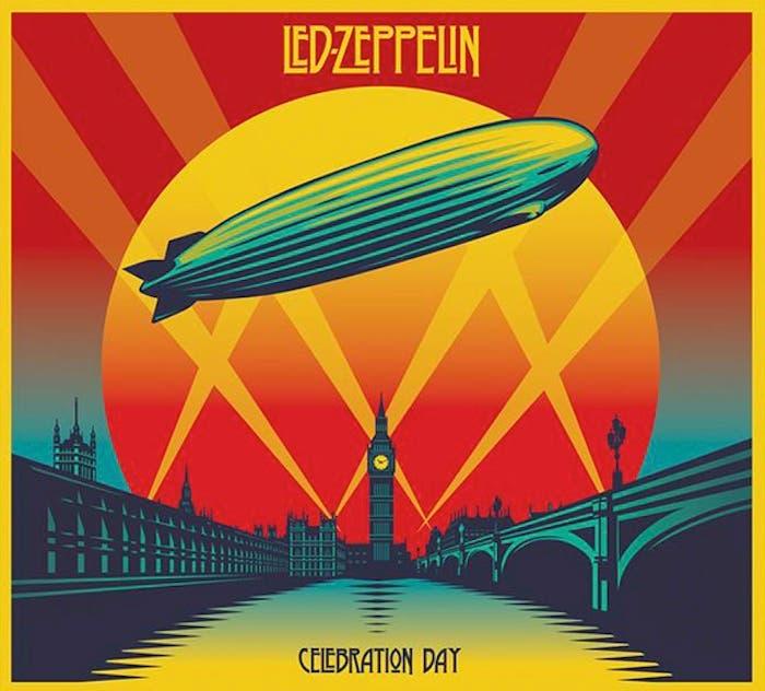 Led Zeppelin, Celebration Day, disco grabado en directo en 2007