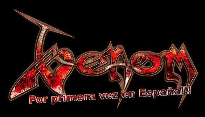 Venom confirmados para el Leyendas del Rock 2013