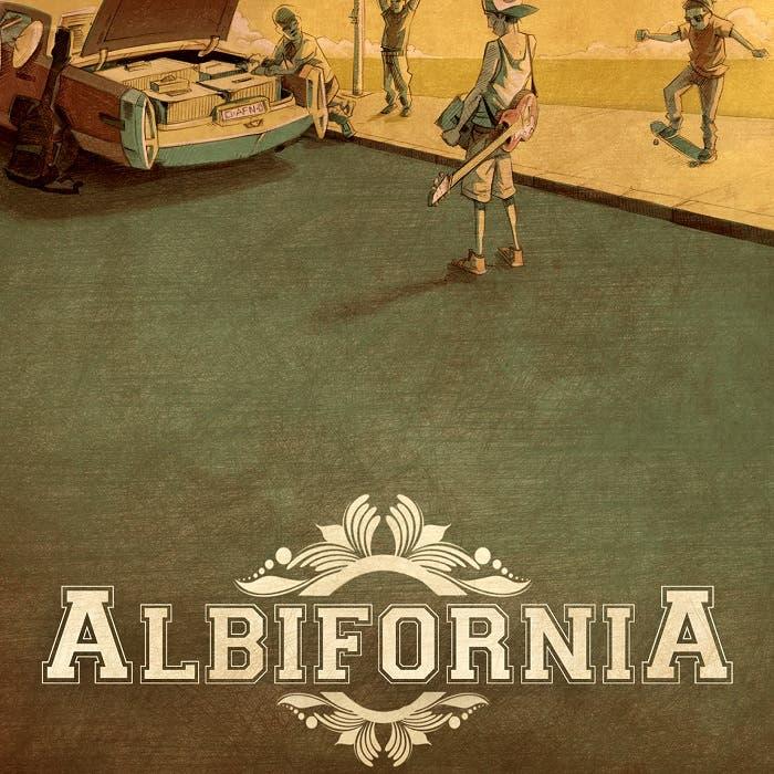 Portada de Albifornia, homónimo al nombre del grupo