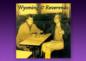 Imagen de El Gran Wyoming y El Maestro Reverendo en sus inicios.