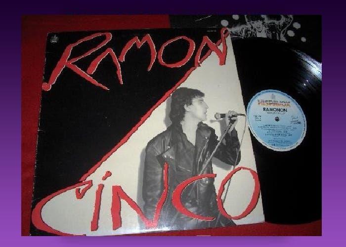 Imagen de un ejemplar en vinilo de Ramoncinco