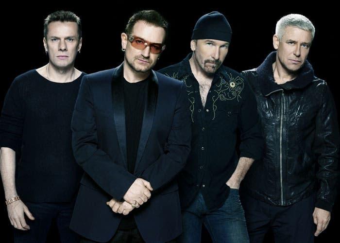Musicos de U2