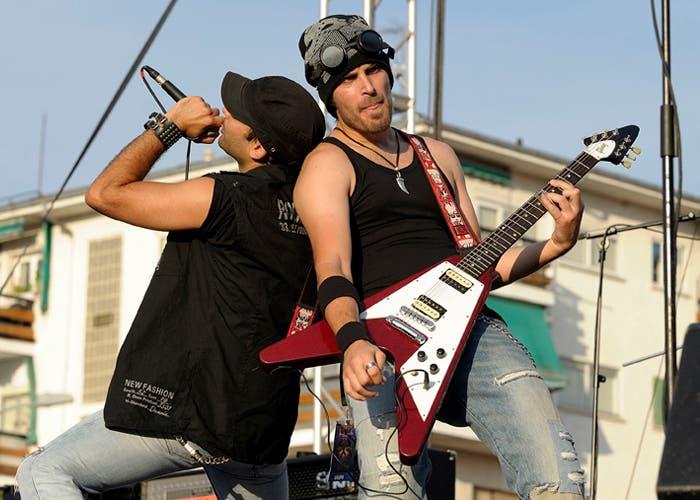 Actuación de Sexaine en el festival Granito Rock de 2012