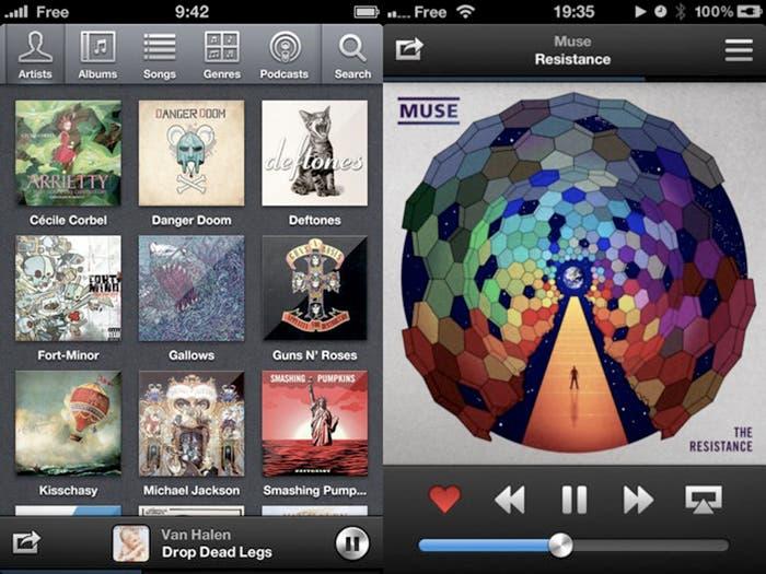 Capturas de pantalla de Ecoute para iOS