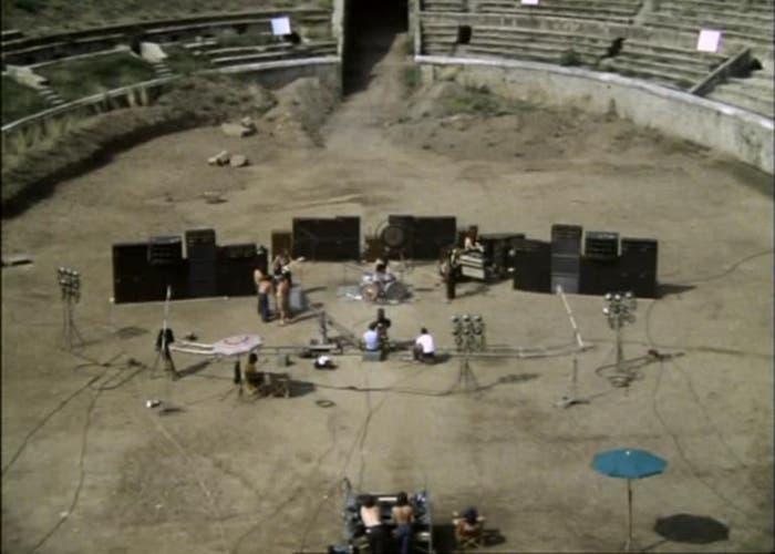 Fotograma de Live at Pompeii
