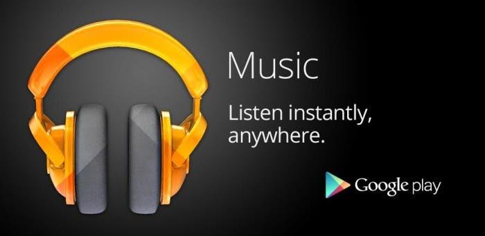 Imagen de propaganda de Google Play Music