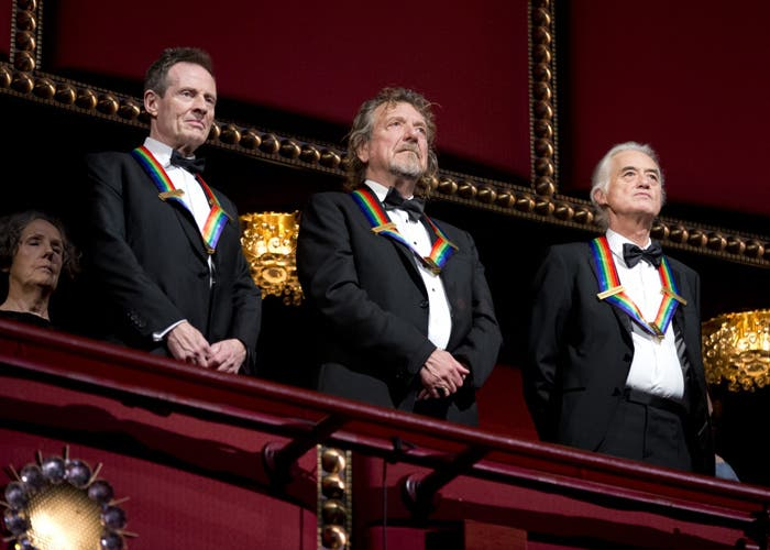 Homenaje a Led Zeppelin en el Kennedy Center