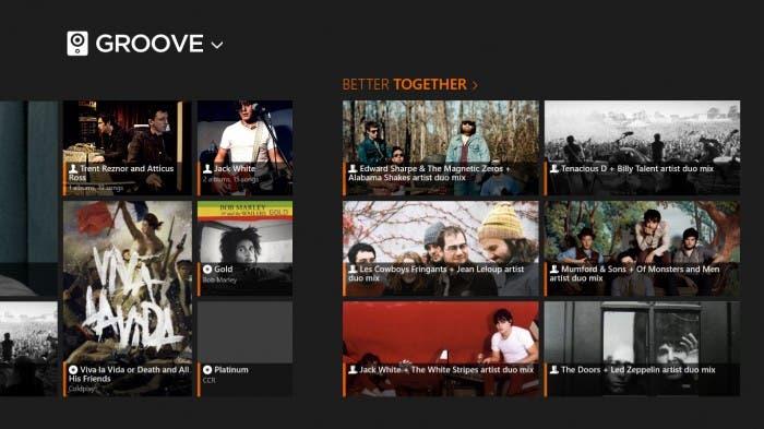 Capturas de pantalla de Groove 2 para iOS