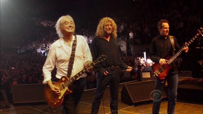 Última actuación de la banda Led Zeppelin