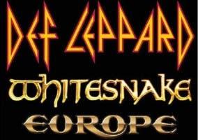 Def Leppard, Whitesnake y Europe de gira en España