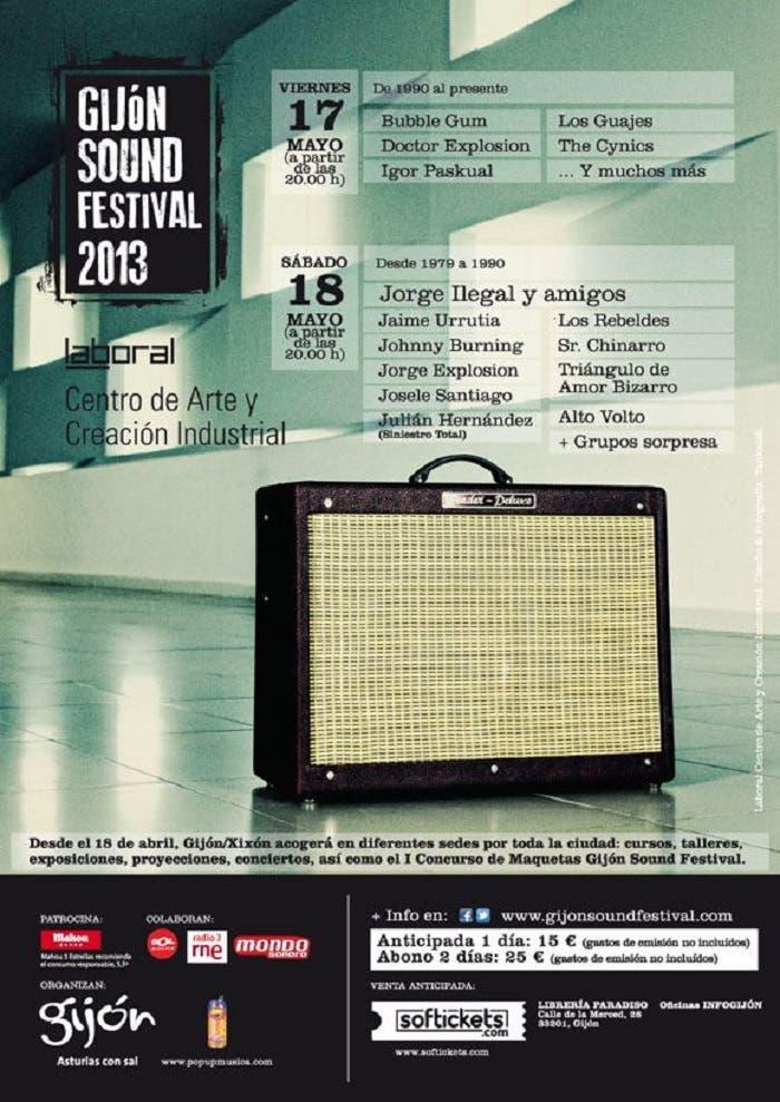 Cartel Gijón Sound Festival