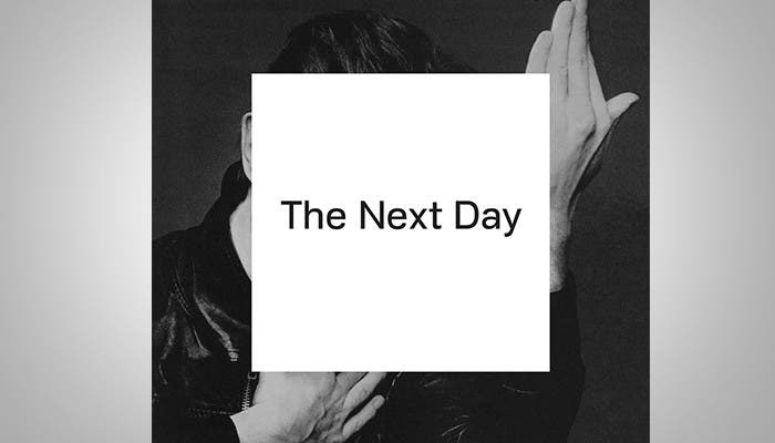 Portada de David Bowie - The Next Day