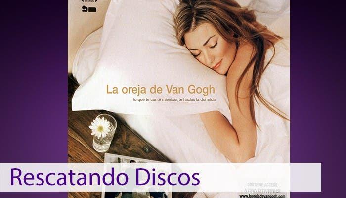 Imagen de portada del disco lo que te conté mientras te hacías la dormida de la oreja de van gogh