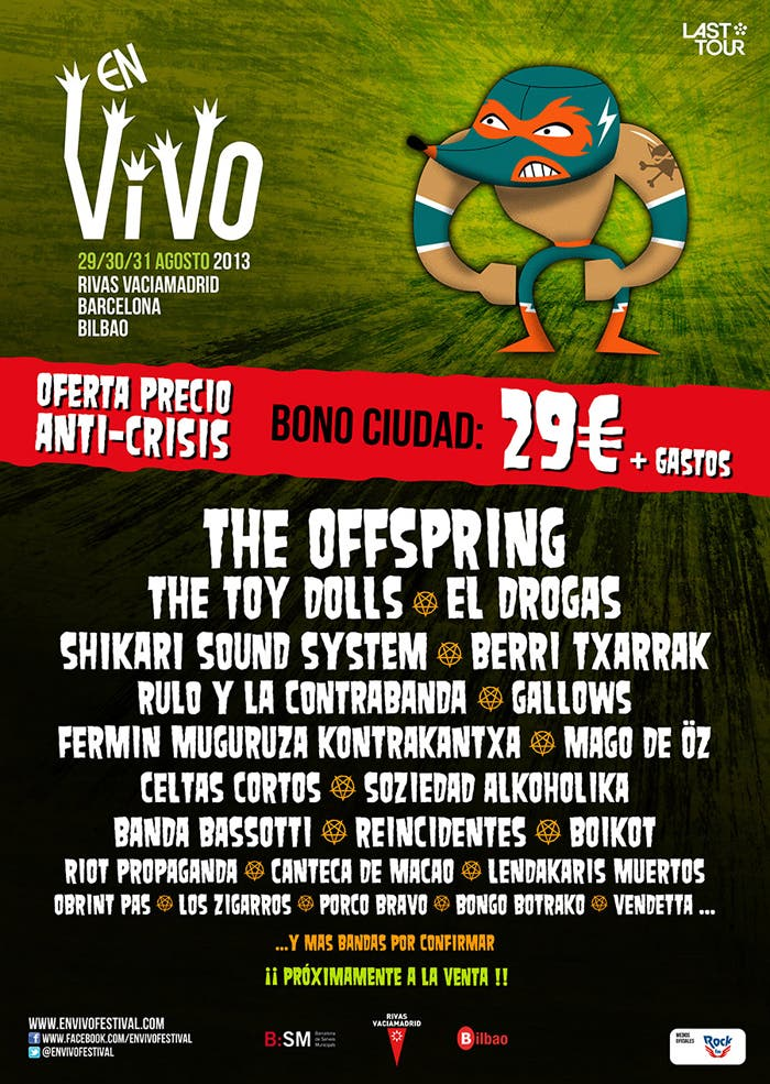 "Cartel de ""En Vivo"" 2013"