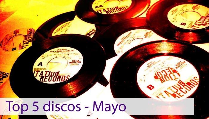 Imagen de presentación del Top 5 discos de mayo