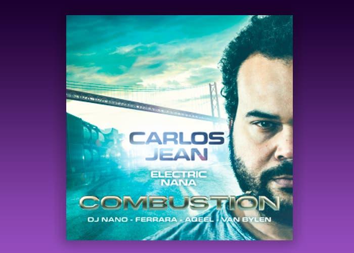 Portada del disco Combustión, de Carlos Jean