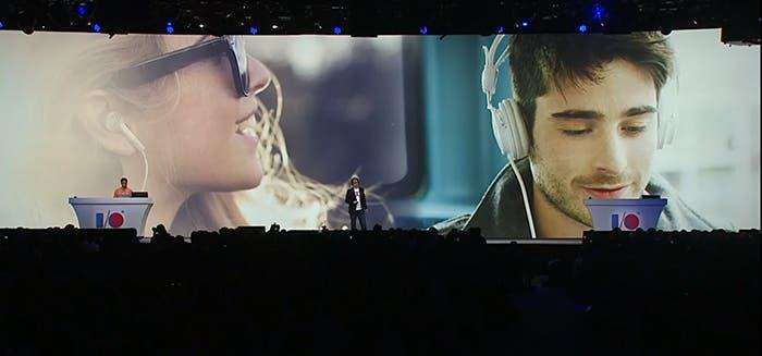 Imagen presentación Google Play Music en el Google I/O