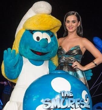 Katy Perry da voz a Pitufina, personaje de Los Pitufos 2