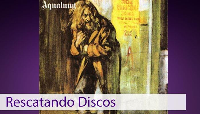 Imagen de portada del Aqualung de Jethro Tull