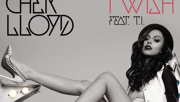 Portada del single I Wish de Cher Lloyd
