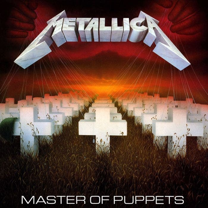 Portada disco Master of Puppets