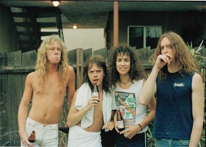 Metallica formacion 1986