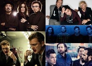 Nominados a mejor artista rock MTV EMA 2013